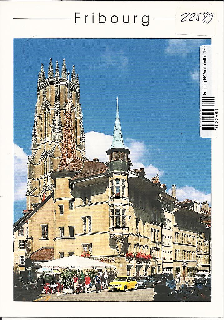 Postcards 22589 Fribourg
