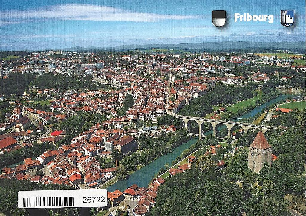 Postcards 26722 Fribourg