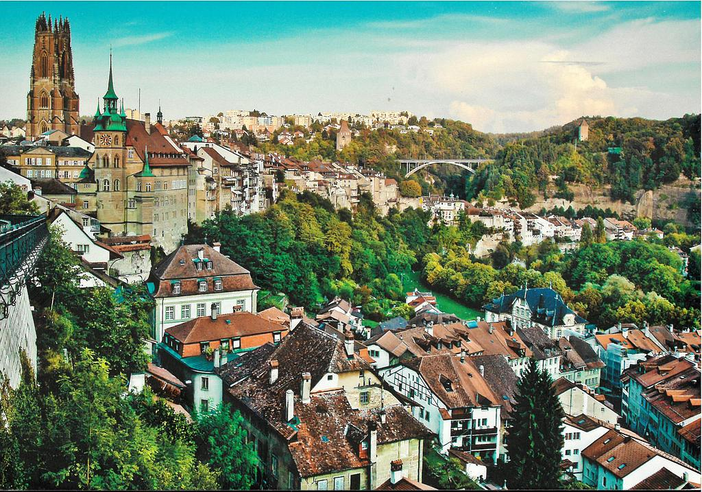 Postcards 26848 Fribourg