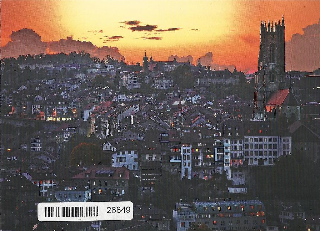 Postcards 26849 Fribourg