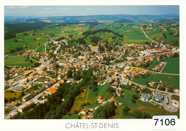 Postcards 07106 Châtel-St-Denis