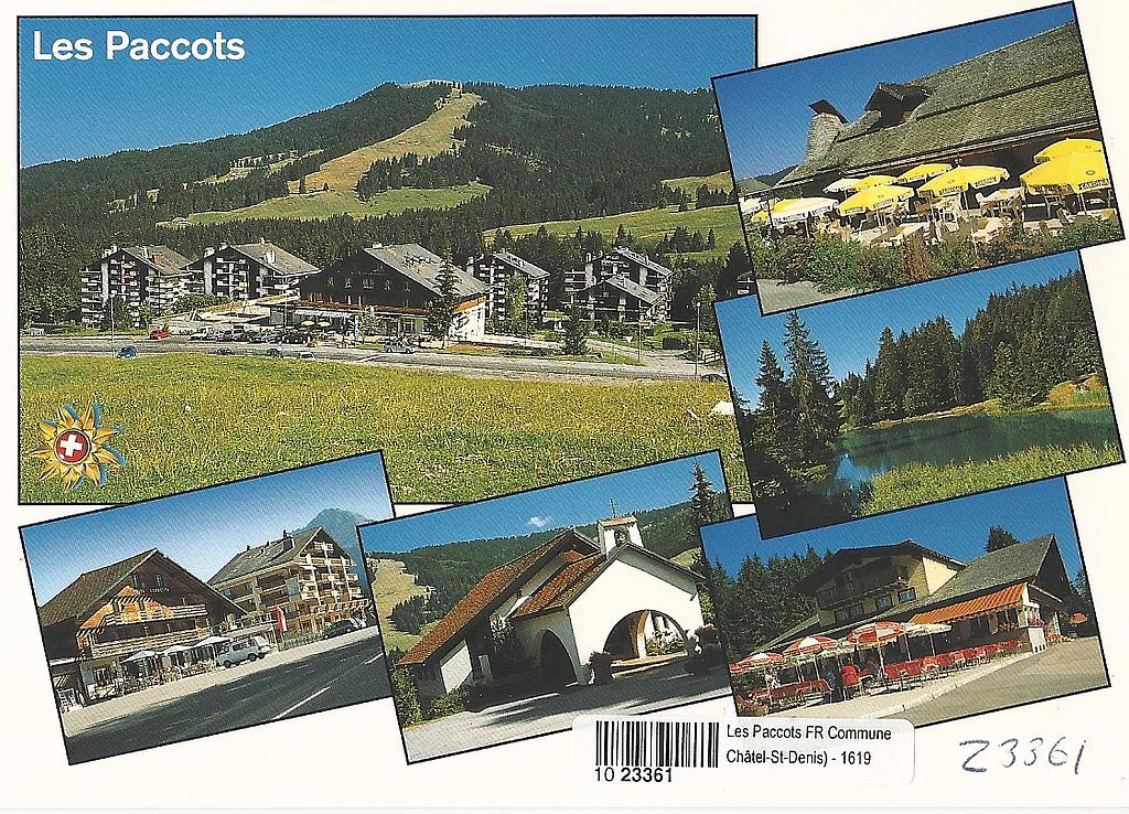 Postcards 23361 Les Paccots
