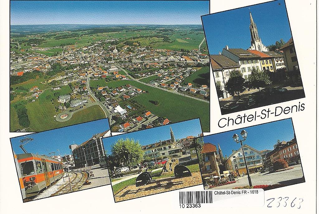 Postcards 23363 Châtel-St-Denis