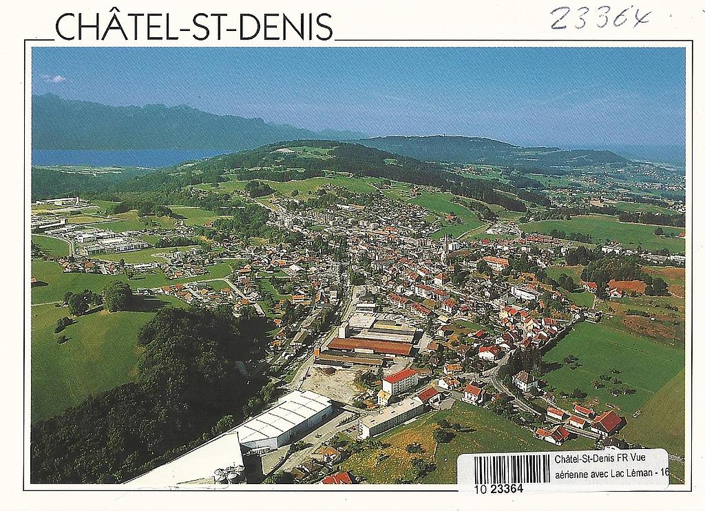 Postcards 23364 Châtel-St-Denis