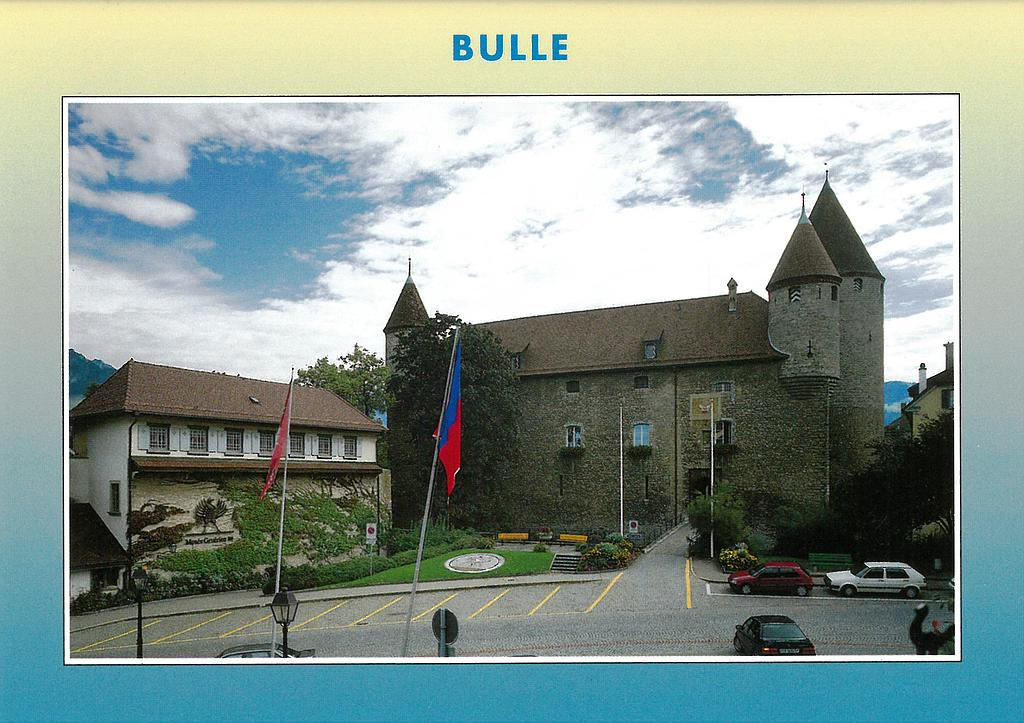Postcards 03126 Bulle