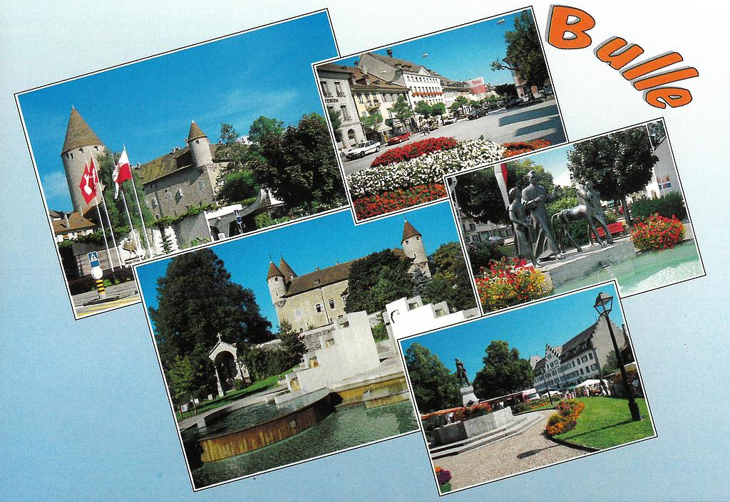 Postcards 11211 Bulle