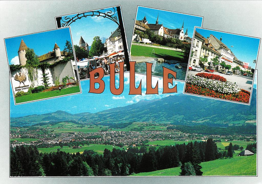 Postcards 11213 Bulle