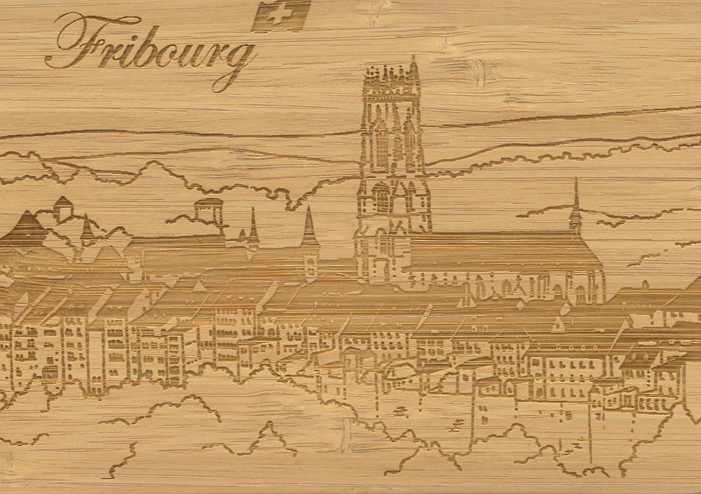 Postcards Bamboo Fribourg
