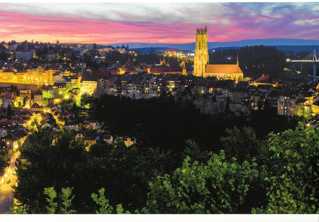 Postcards 29010 Fribourg