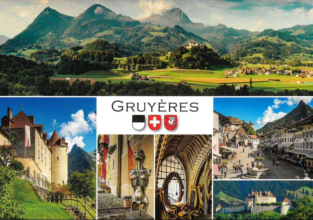 Postcards 29074 Gruyères
