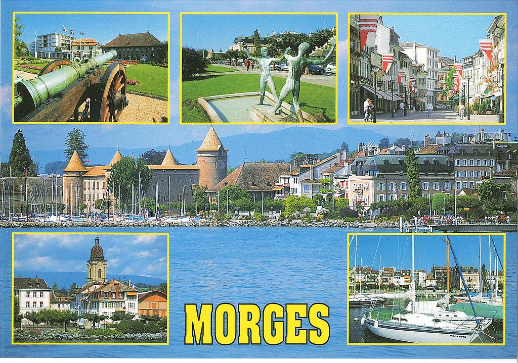 Postcards 17273 Morges