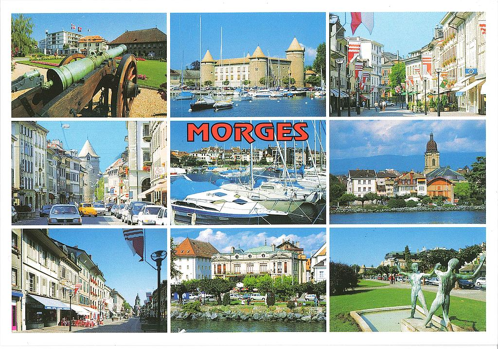 Postcards 17274 Morges