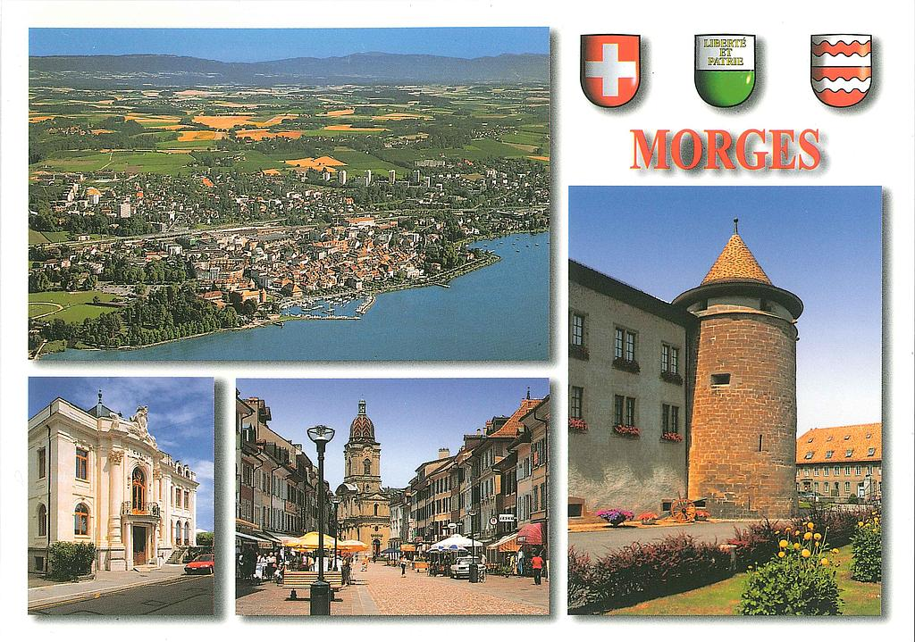 Postcards 21810 Morges