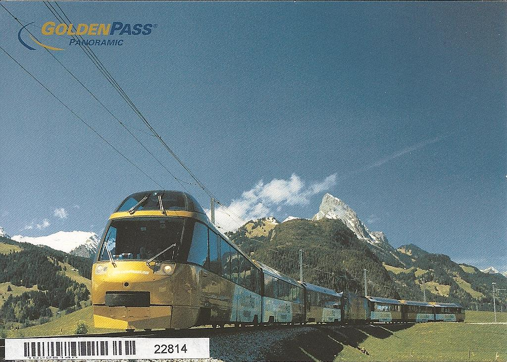 Postcards 22814 Golden Pass Panoramic MOB