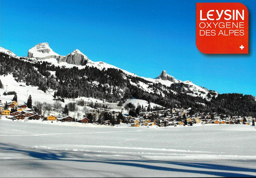 Postcards 29182w Leysin