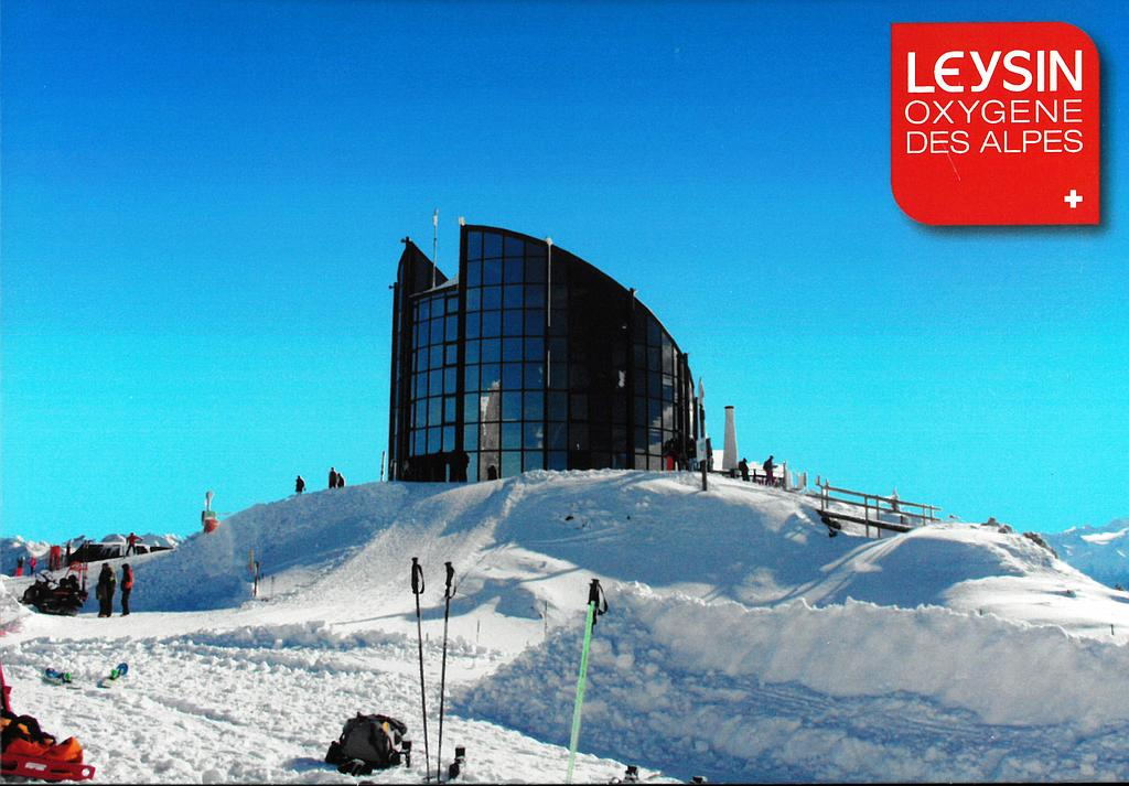 Postcards 29184w Leysin