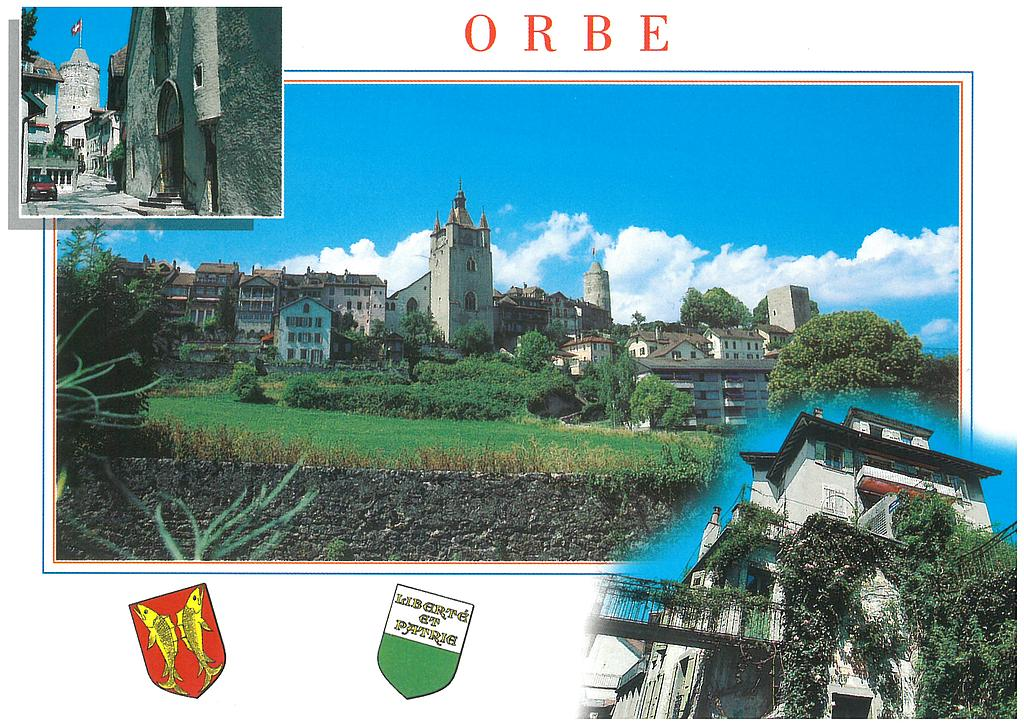 Postcards 11673 Orbe