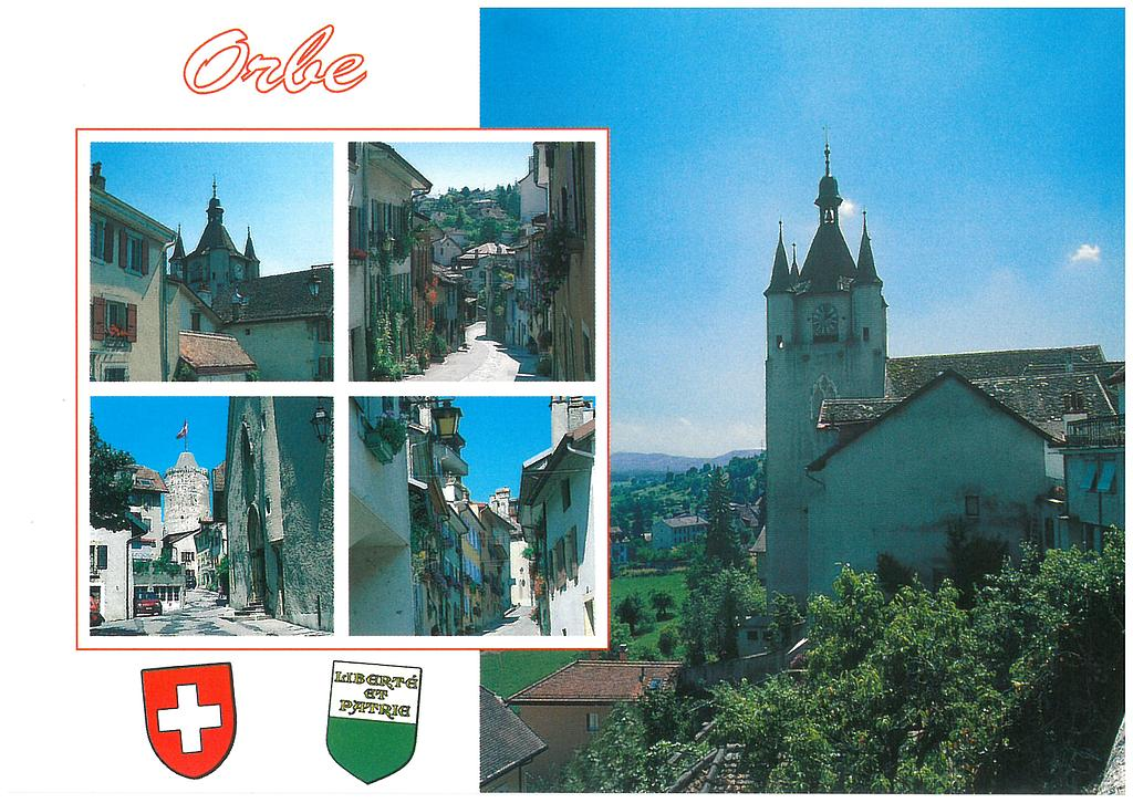 Postcards 11674 Orbe