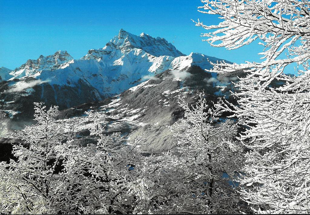 Postcards 09761 w Les dents du midi