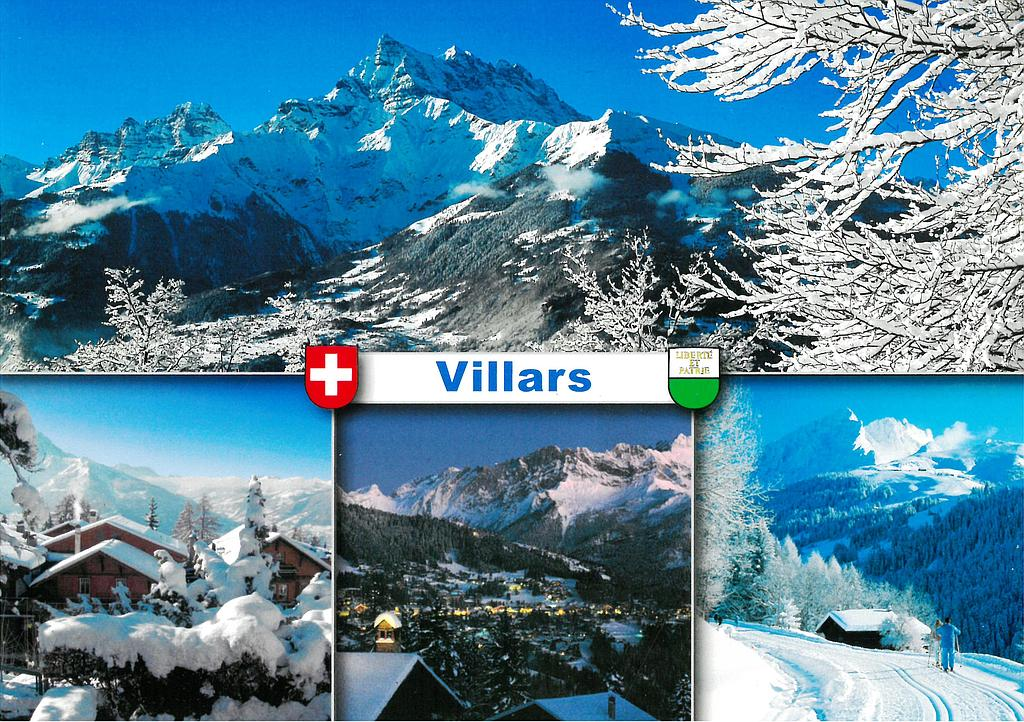 Postcards 28731 w Villars-sur-Ollon