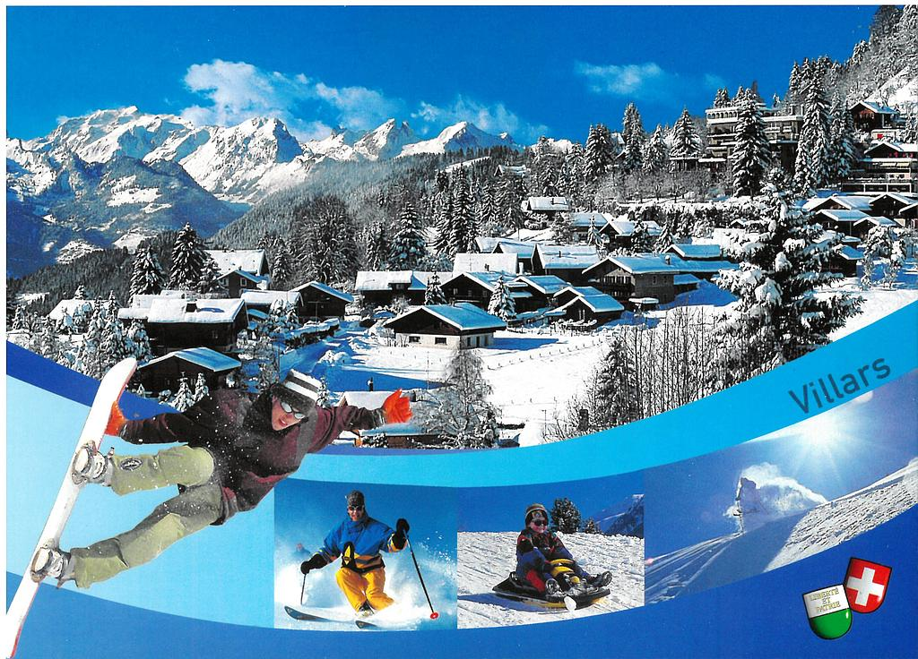 Postcards 23593 w Villars-sur-Ollon