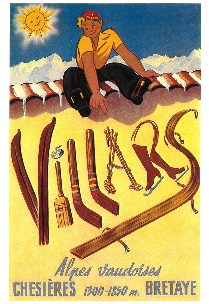 Postcards A6 Litho  01392 Villars-Chesières